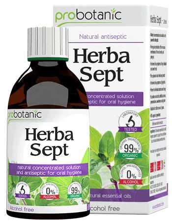 Herba Sept - prirodni koncentrovani oralni rastvor i antiseptik