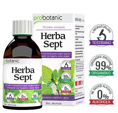 Herba Sept - prirodni oralni koncentrovani rastvor