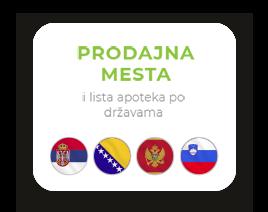 Probotanic - Prodajna mesta i lista apoteka po državama