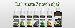 7 novih Probotanic ulja