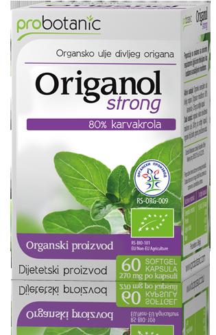 Origanol Strong - organsko ulje divljeg origana