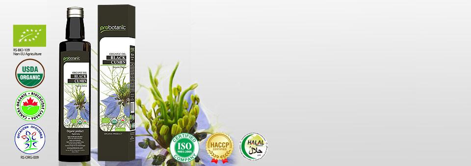 Probotanic - Hladno stiskano olje črne kumine (Nigella sativa)